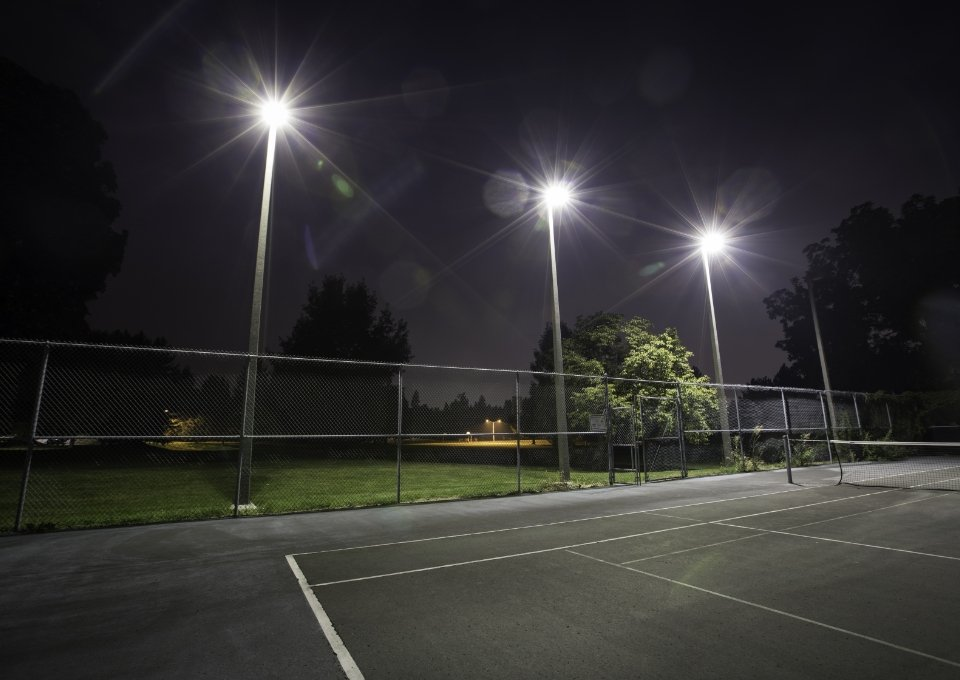 Sports Court Lighting, Posts and Netting - Major Sports Surfaces