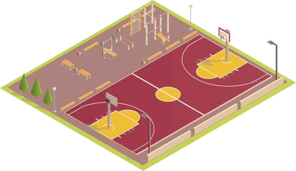 Basketball Courts - Major Sports Surfaces