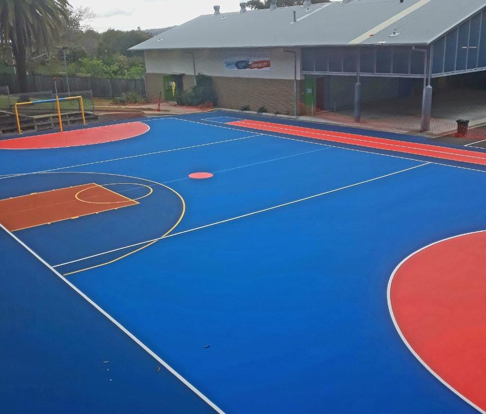 Netball Courts - Major Sports Surfaces - Lake Macquarie & Newcastle
