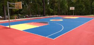 Newcastle University Basketball Court - Major Sports Surfaces - Lake Macquarie & Newcastle